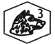 poinçon platine tête de chien 3