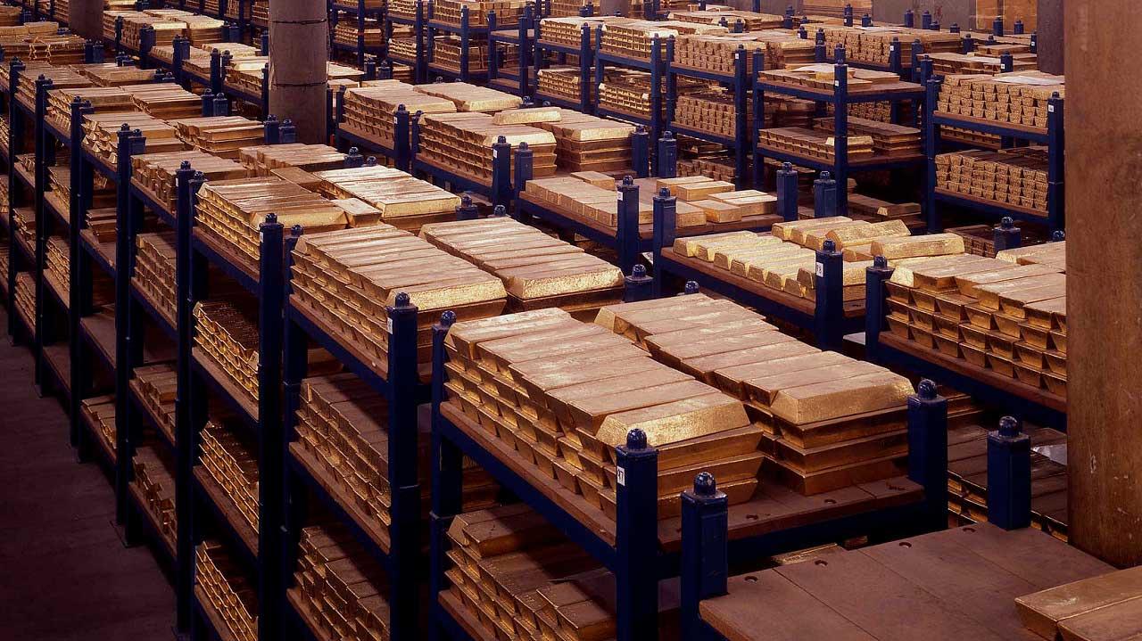 reserve d'or d'une banque centrale