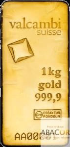 lingot or valcambi 1 kg
