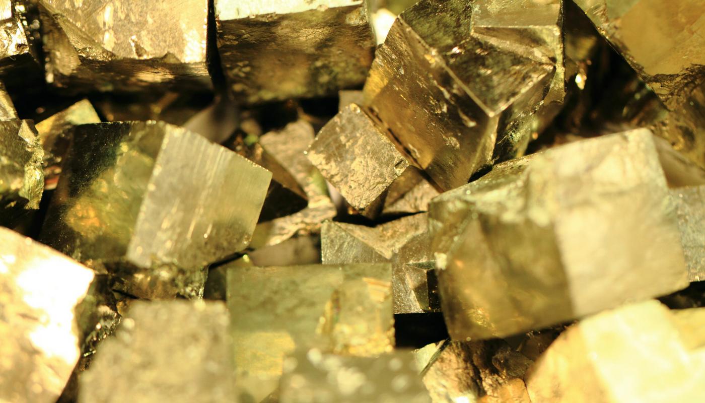 la pyrite l'or des fous